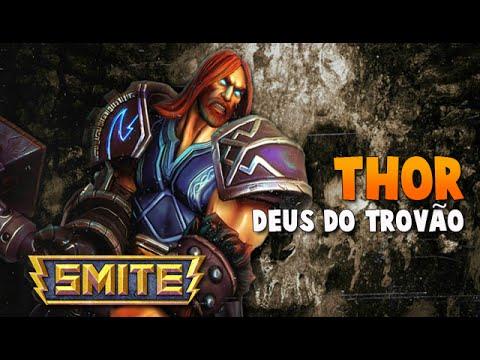 SMITE BRASIL - THOR Deus do trovão! BUILD + GAMEPLAY!