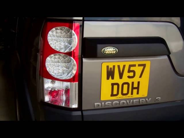 How to upgrade rear lights on Land Rover Discovery 3 to ...