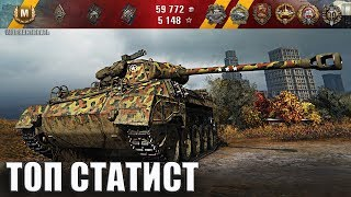 M18 Hellcat как играют ТОП статисты wot