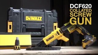 DCF620 XR Brushless Collated Screw Driver From DEWALT