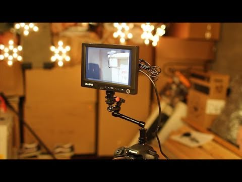 Hot Shoe Mounting your Lilliput Monitor. - DSLR Film NOOB