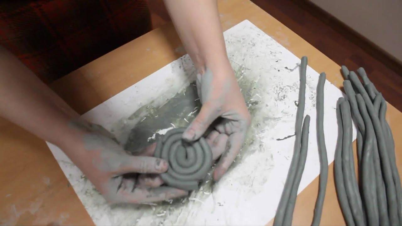 Лепка глины домашних условиях