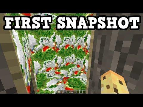 Minecraft 1.13 - First Snapshot Of 2018 & Bug Fix Updates