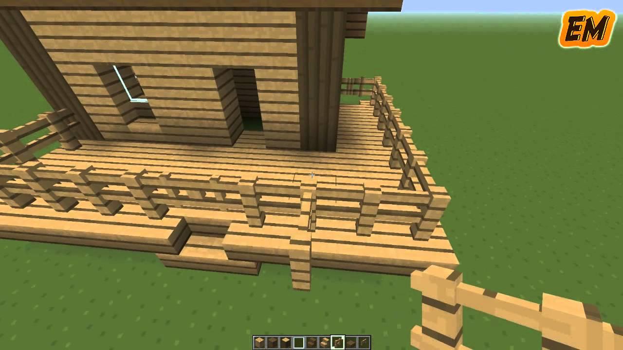 Minecraft como hacer una casa bonita y sencilla - Construccion de una casa ...