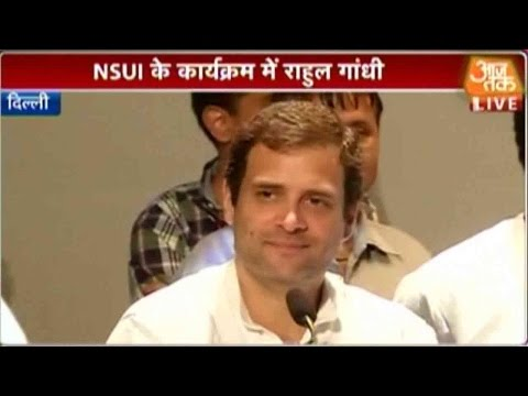 Rahul Gandhi Attends NSUI Event; Excerpts From His Speech