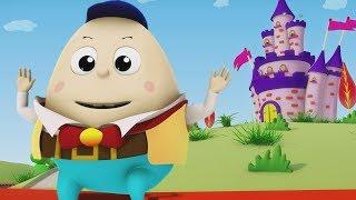 Humpty Dumpty Sat On A Wall   Nursery Rhymes Songs For Kids   Baby Rhyme