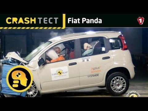 Fiat Panda. Краш-тест. (УКР)