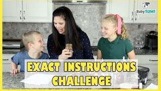 Exact Instructions Challenge | How to Make an Ice Cream Sundae