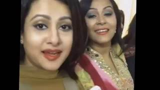 Actress Mousumi Birthday Celebration with Omar Sany, Punima, Omit Hasan and Amin Khan