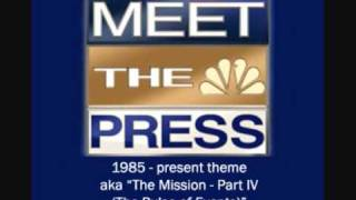 nbc news meet the press theme song