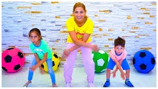 Learn & Exercise with The Finger Family Song - Best Nursery Rhymes Action Songs for Kids by KLS