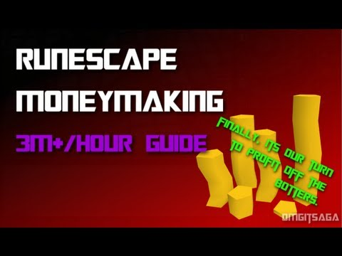 RuneScape EoC 3M/Hour Moneymaking Guide 2013!