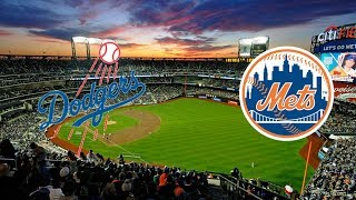 Los Angeles Dodgers vs New York Mets MLB Live Play by Play and Reactions with SirCardinalTV