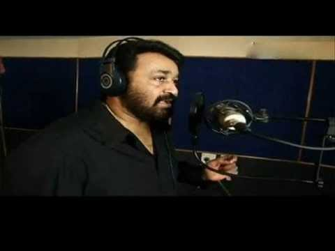 Attumanal Payayil Mohanlal Singing Superb Song Lyrics video
