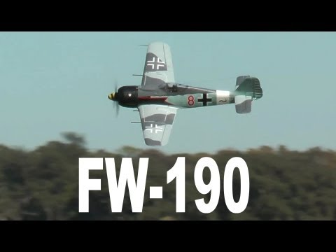 Banana Hobby / FMS FW-190 Review by Rich Baker in HD