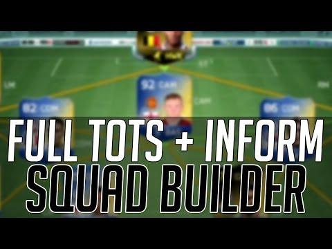 THE EXPENSIVE BPL TOTS + INFORM SQUAD   FIFA 14 Ultimate Team Squad Builder (FUT 14)