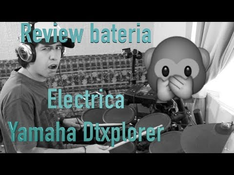 Bateria Electrica DTXplorer Yamaha by Hugo Zerecero (drum trigger module)