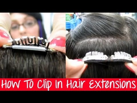 How to Clip In Hair Extensions Instant Beauty Hair Extensions