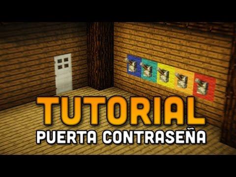 Minecraft: Tutorial - Puerta con contraseña