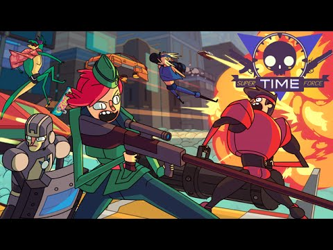 Super Time Force Ultra Gameplay | PC HD