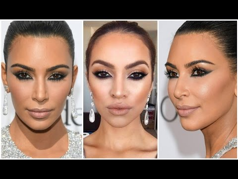 Kim Kardashian Cannes 2016 Makeup Tutorial | Makeover Edition | MakeupwithJah