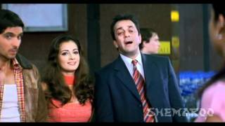 Airport - Dus Movie Airport Comedy Scene - Sanjay Dutt, Abhishekh Bachchan, Zayed Khan & Shilpa Shetty
