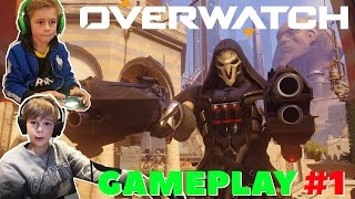Overwatch | GAMEPLAY: REAPER I FULL ACTION!! | Crash Brothers Gaming