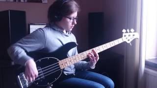 Hiatus Kaiyote - Molasses (Bass Cover)