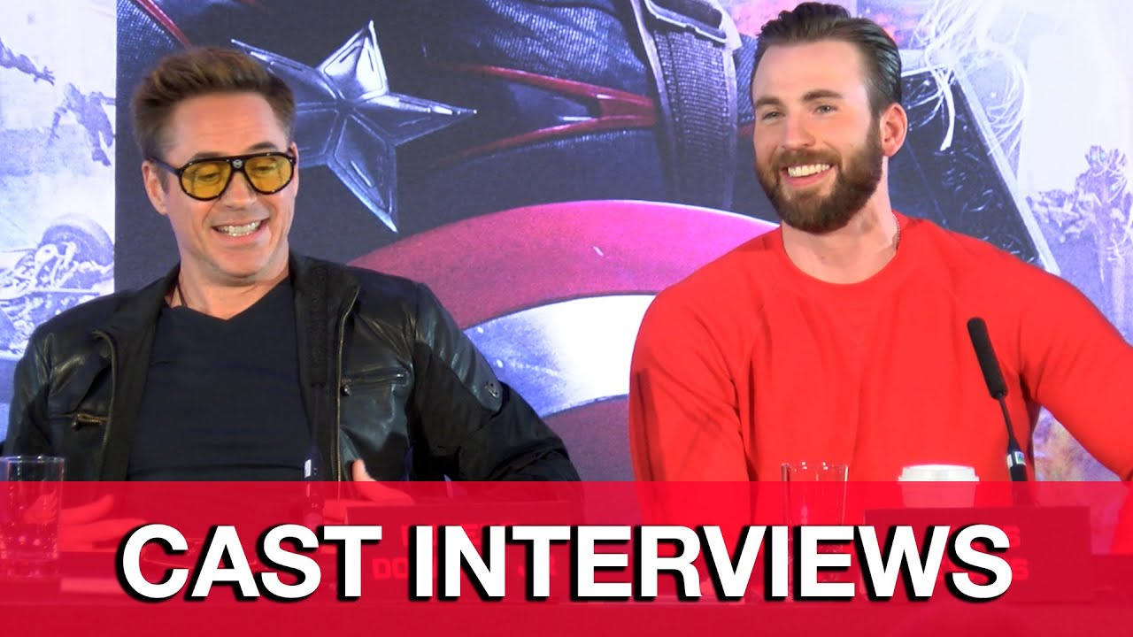 Avenger Age of Ultron Cast Interview Avengers Age of Ultron Cast