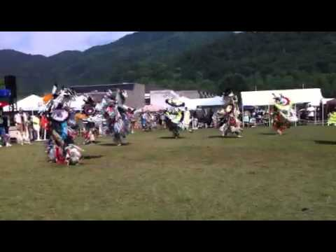 Men's Fancy @ Cherokee, NC powwow 2013