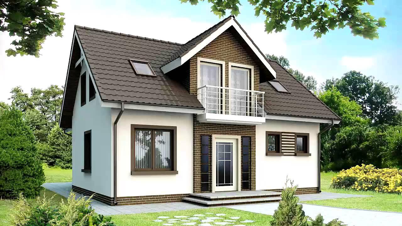 Каркасные дома с мансардой фото