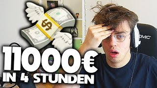 11000 EURO in 4 STUNDEN 💸💸💸 | Sellout Stream