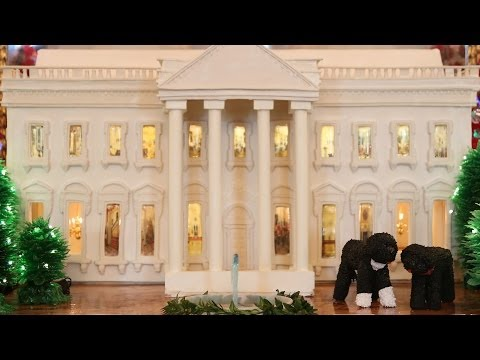 Holidays at the White House - Building the 2013 Gingerbread White House