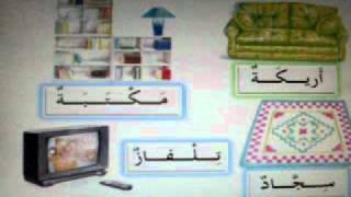 Apprendre les noms des différentes pièces de la maison en arabe