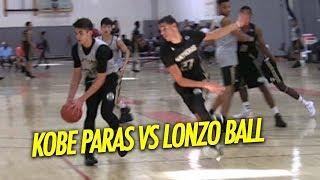 Kobe Paras vs Lonzo Ball and Many More NBA Prospects   Adidas Nations 2015