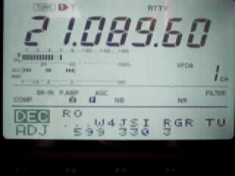 IC-746PRO DECODIFICANDO RTTY