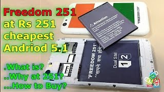 [Hindi-Audio]-Freedom251: What is, why at 251 & How to buy?