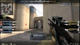 HEADSHOT in smoke Counter Strike Global Offensive ( Cs go )( Ssg 08 )
