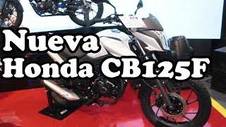 Nueva Honda CB125F 2019 Colombia Características - Salón automóvil 2018 Corferias