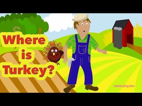 Preschool Thanksgiving Song - Where Is Turkey? - Littlestorybug video