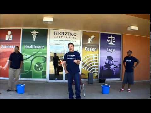 Herzing University New Orleans Campus President ALS Challenge