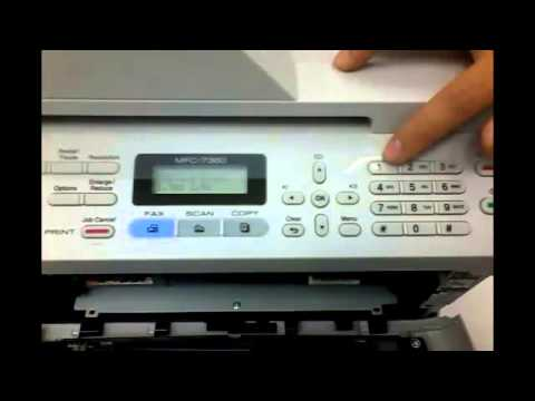Toner Brother 7360 Brother Mfc 7360 Reset