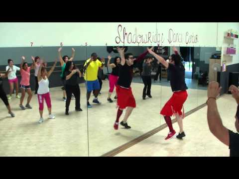 Taboo - Don Omar - Lambada Samba Fitness Routine w/ Bradley - Crazy Sock TV