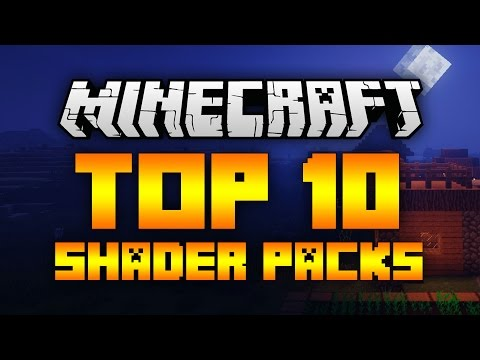 Top 10 Minecraft Shader Packs (Minecraft 1.11.2) - 2017 [HD]