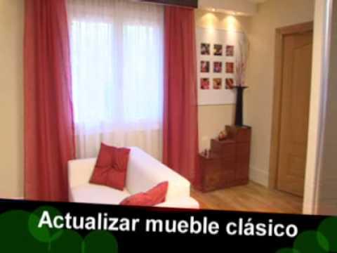 Bricoman a actualizar mueble cl sico youtube for Como envejecer un mueble blanco