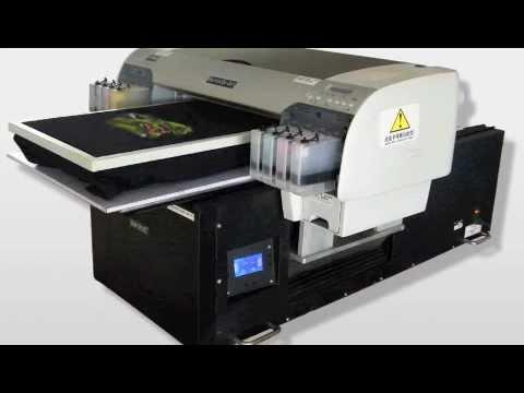 Digital Flatbed T-shirt Printer /Direct To Garment DTG /Start your own T-shirt Business -- OPRINTJET