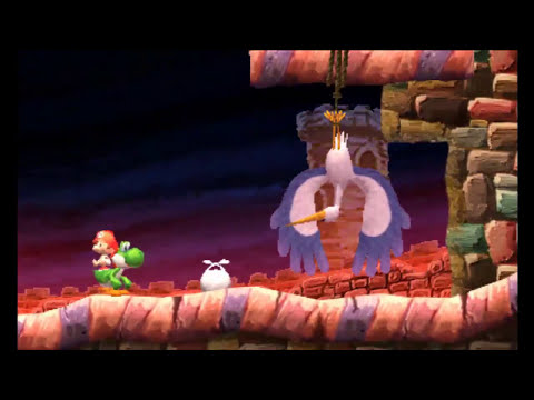 Yoshi's New Island (3DS) - All Boss Fights