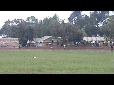 Asbel Kiprop 400m race at Iten District Champs 2011