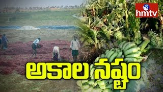 Weather Report | Premature Rain Effects on Telangana andamp; AP | hmtv