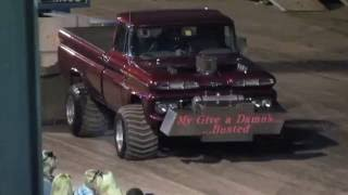 1960 Chevy 4x4 Super Stock Truck Pull